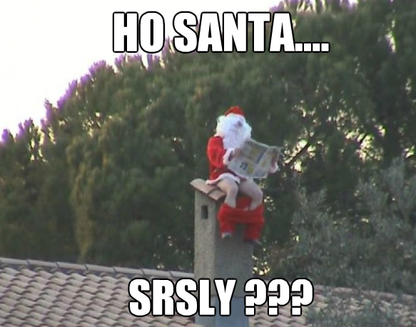 Joyeux Noël  Santa-meme