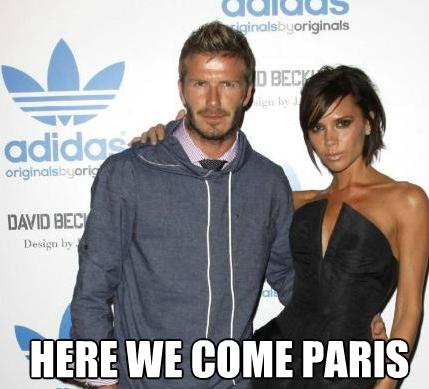 Beckam PSG meme