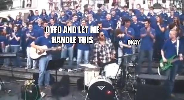 Kravitz VOP Choir meme