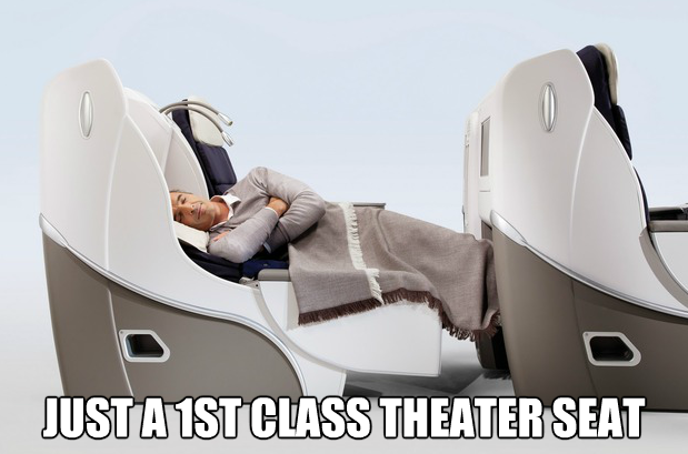 1st class theater seat