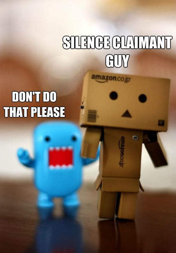 Amazon claimant meme
