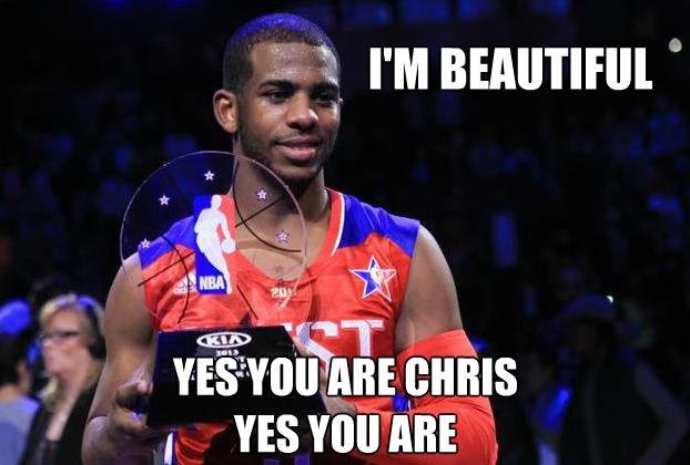Chris Paul MVP Meme