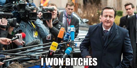 Europe David Cameron meme