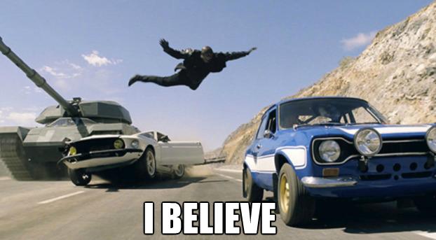 Fast & Furious 6 meme