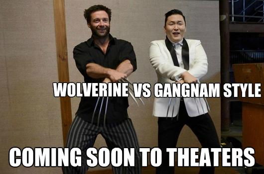 Gangnam Style Wolverine meme