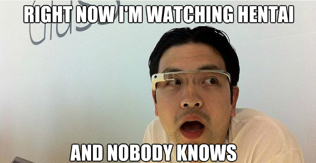 Google glass meme