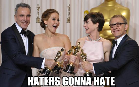 Jennifer Lawrence Anne Hathaway meme