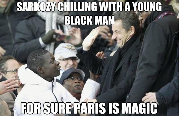 Sarkozy PSG OM meme
