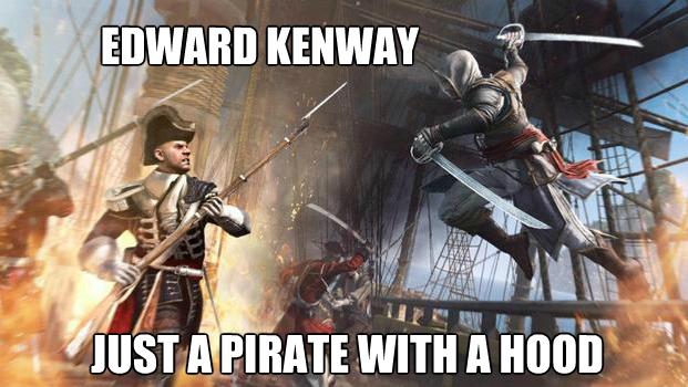 Assassin's Creed 4 meme