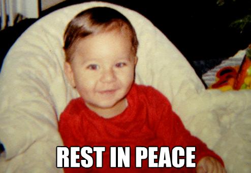 Baby shot Georgie meme