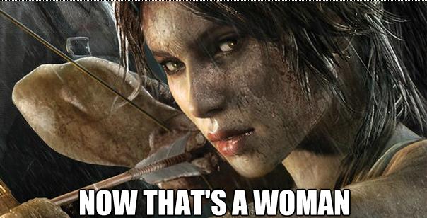 Lara Croft meme