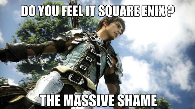 Square Enix meme