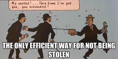 Pickpocket meme