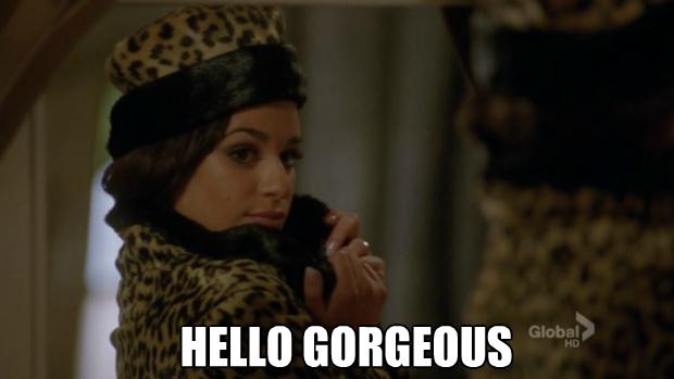 Rachelle Glee Meme