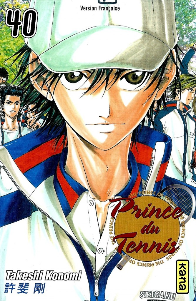 Prince du Tennis Tome 40