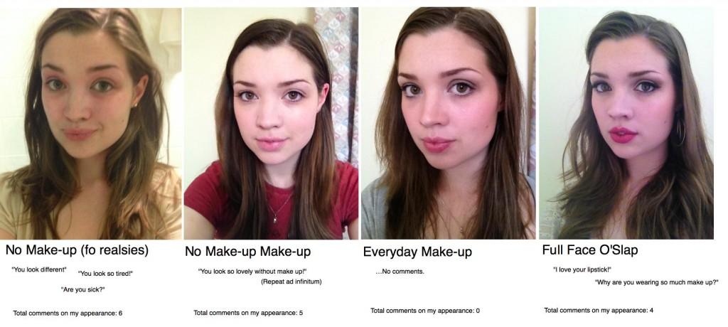 Fifty shades of make-up