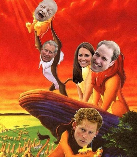 Royal Baby Meme