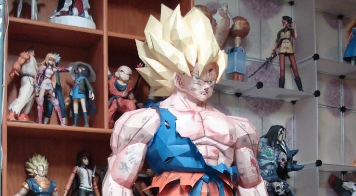 Goku-Papier