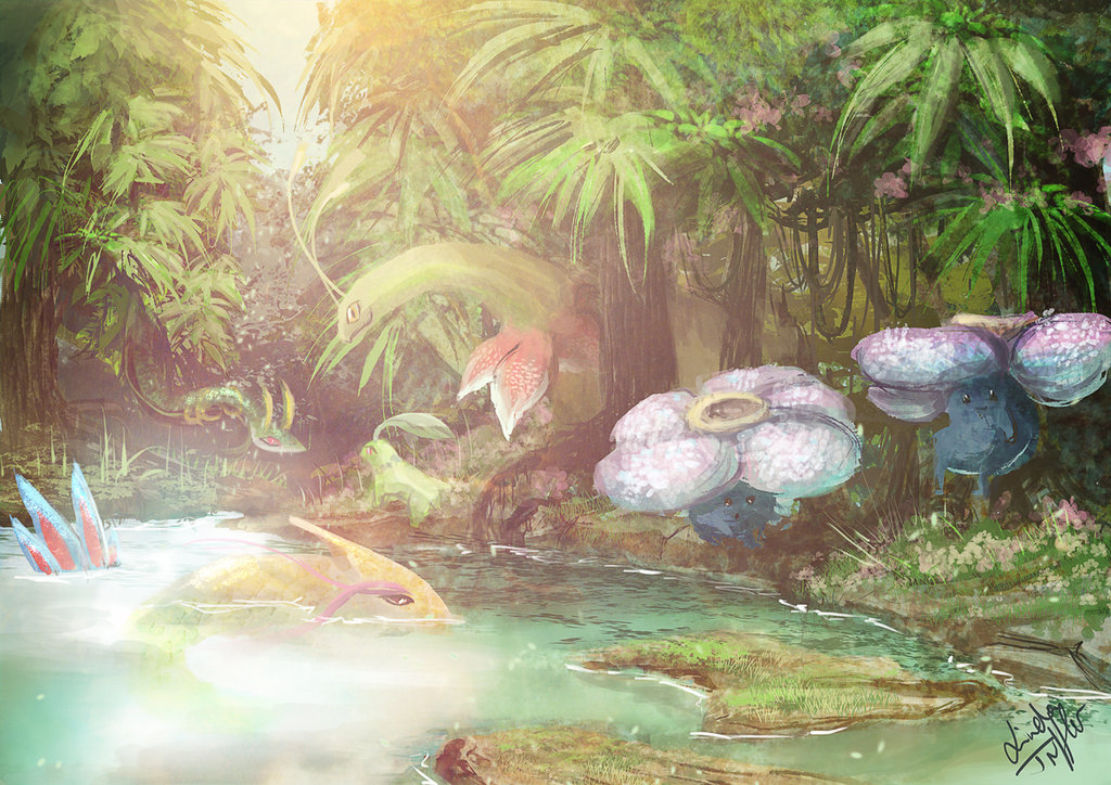 Rain-Forest-Pokémon