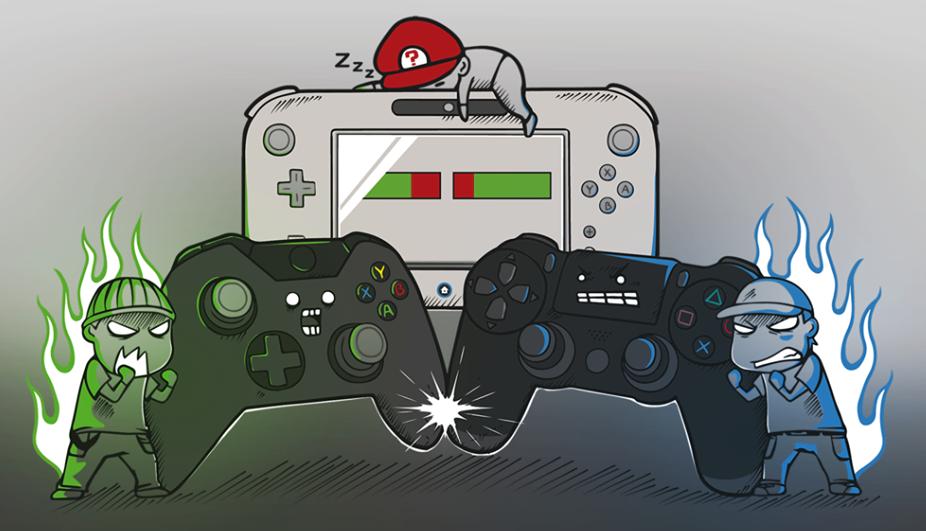 PS4 Star Wars Edition / Battlefront. Rejoindrez-vous le côté obscur ? PS4-VS-Xbox-One-VS-Wii-U