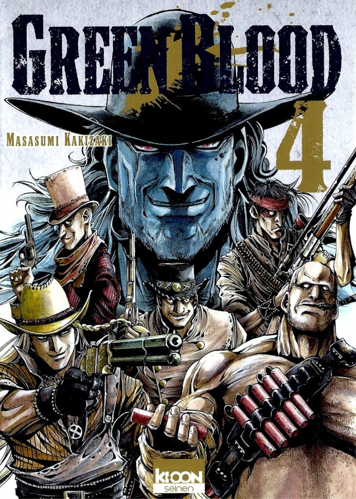 Green Blood Tome 4