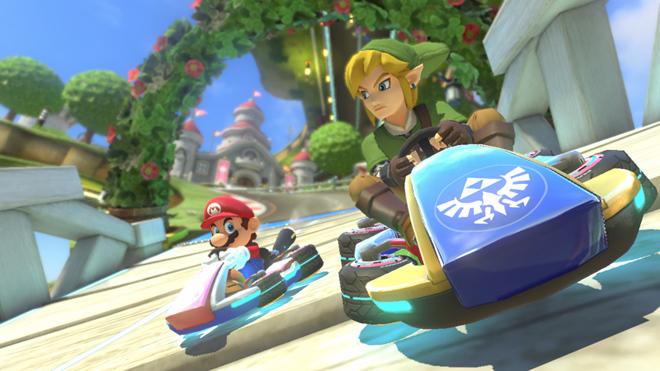 Link-Mario-Kart2