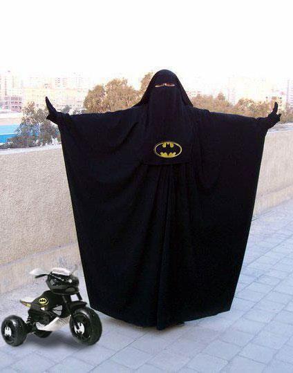 Niqab-Batman