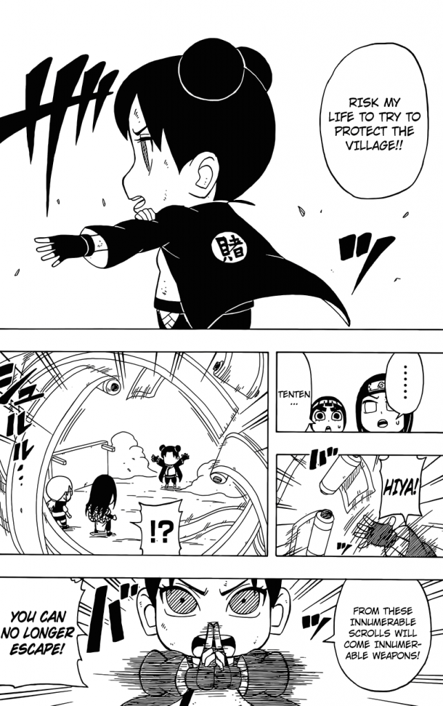 Rock Lee's Springtime of Youth 35-2