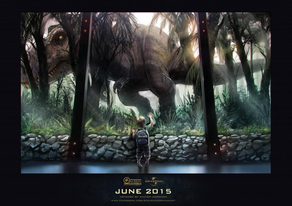 Jurassic-Park-Fan-Poster