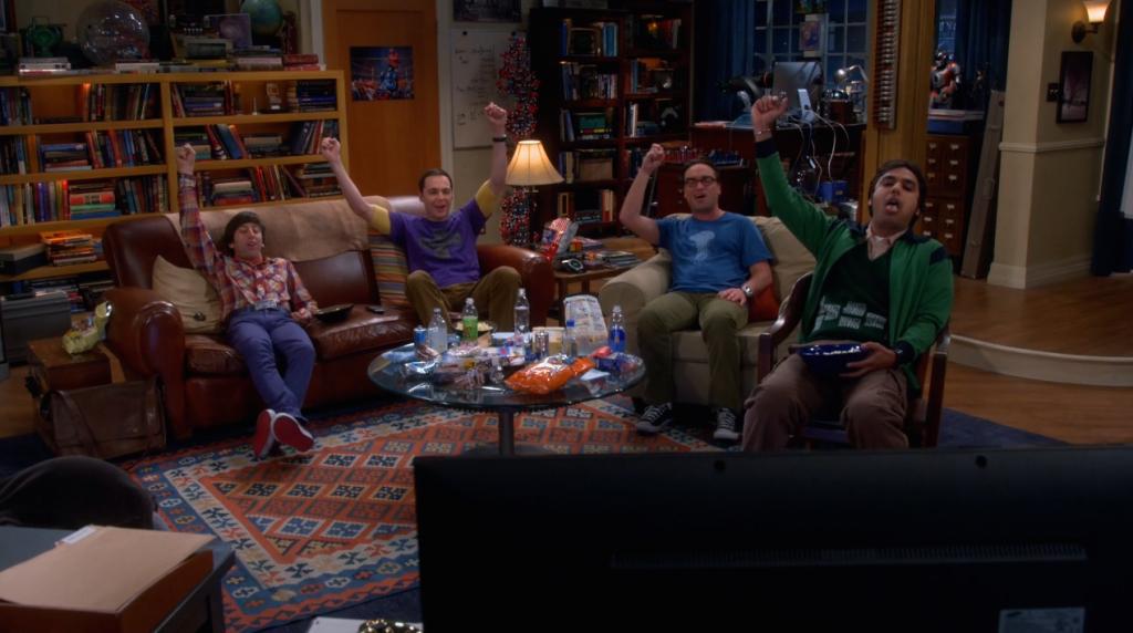 The Big Bang Theory Saison 8 Épisode 05 Cover