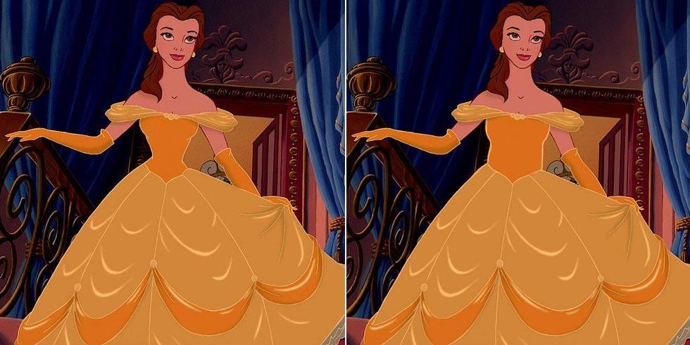 Princesses-Disney-Proportions-4
