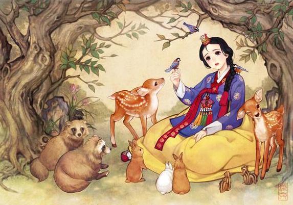 Disney-Peinture-Chinoise-4