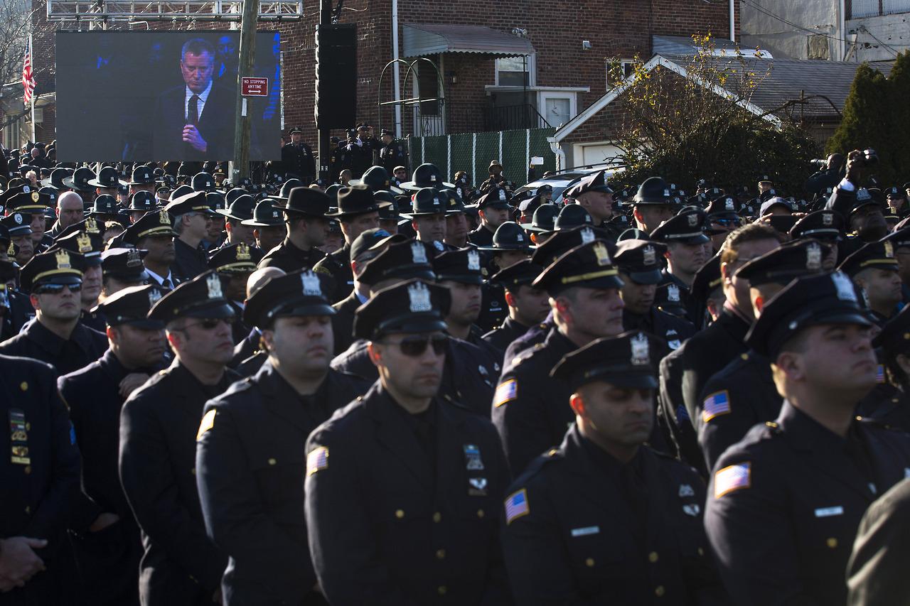 Funeral services for NYPD officer Rafael Ramos