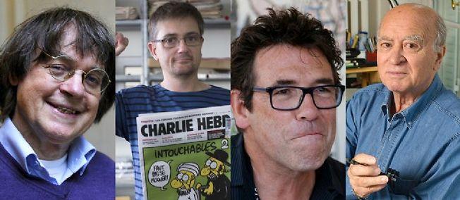 Charb-Cabu-Tignous-Wolinski
