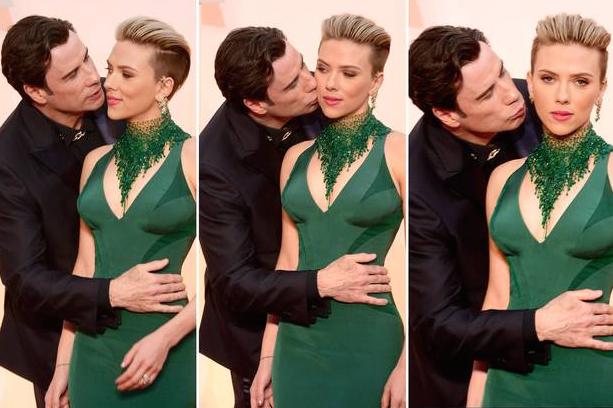 John-Travolta-Embrasse-Scarlett-Johansson-Oscars-1