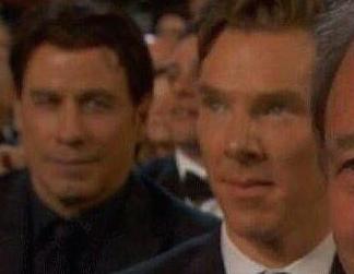Travolta-Cumberbatch-Oscars