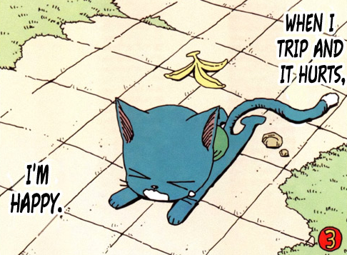 Fairy Tail - Happy The Blue Cat-3-Bis