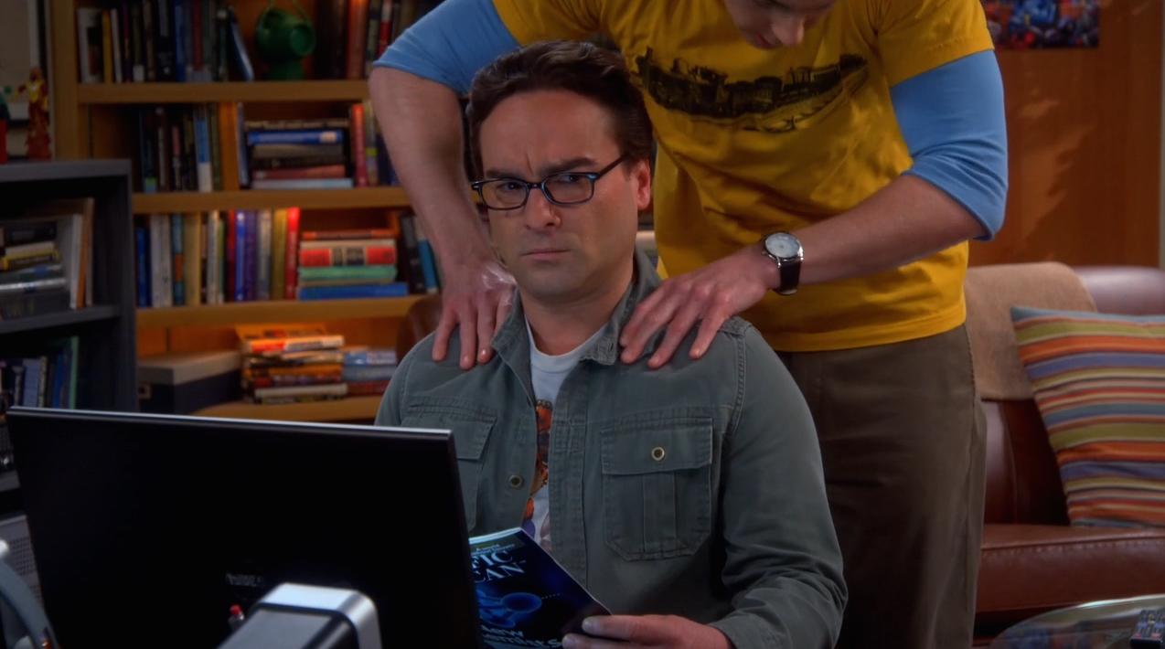 The Big Bang Theory Saison 8 Épisode 18-1