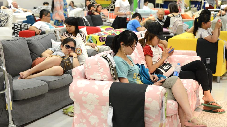 chine ikea interdit ses clients de squatter leurs lits