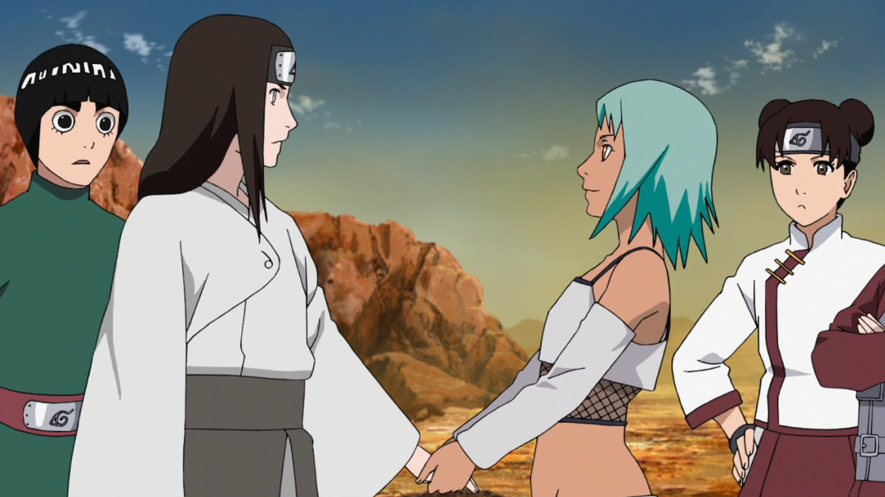 Review : Naruto Shippuden Épisode 412 - « Ne jamais ... Gaara And Neji