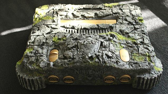 Nintendo-64-Custom-Ocarina-Of-Time-1