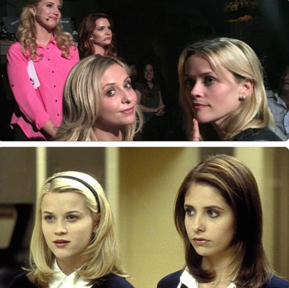 Sarah-Michelle-Gellar-Selma-Blair.-Baiser-2