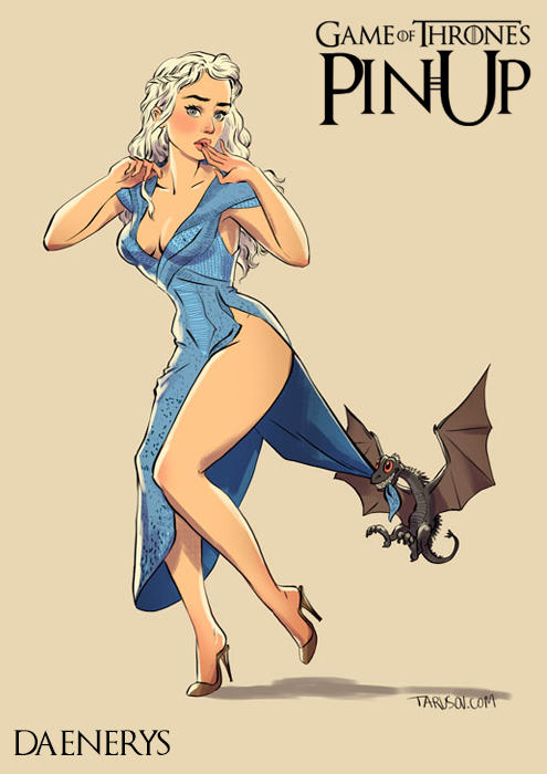 Game-Of-Thrones-Pin-Up-14
