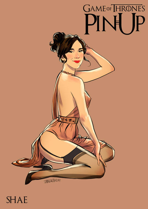 Game-Of-Thrones-Pin-Up-7