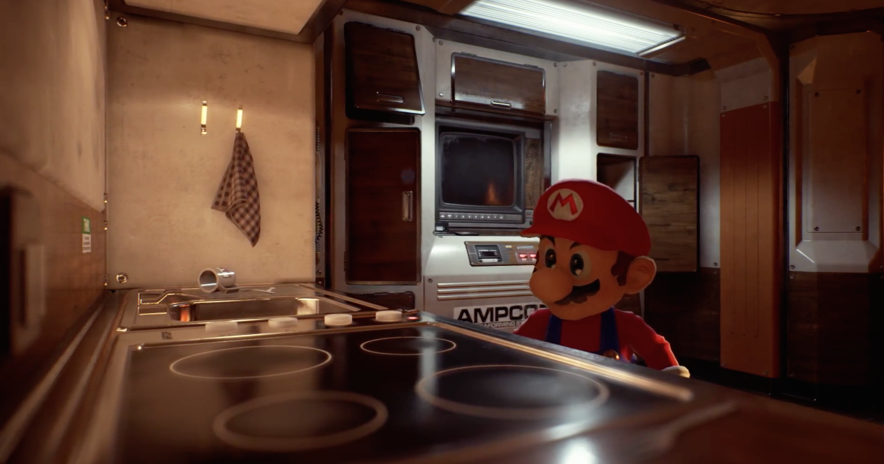 Mario-Unreal-Engine-4-1