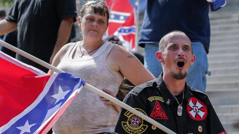 Ku-Klux-Klan-Manifestation-Caroline-Sud-2