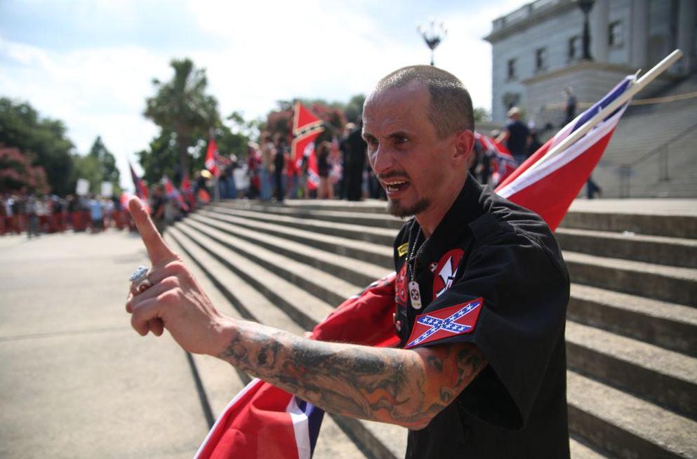 Ku-Klux-Klan-Manifestation-Caroline-Sud-4
