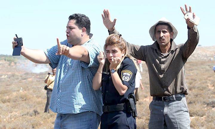 Cisjordanie-Policiere-Israelienne-1