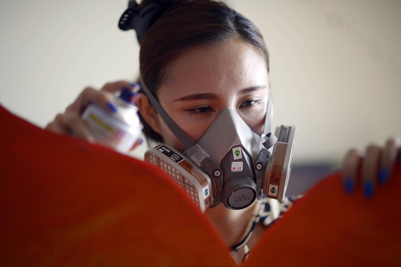 Chongqing: Princess Mermaid weaves her dream