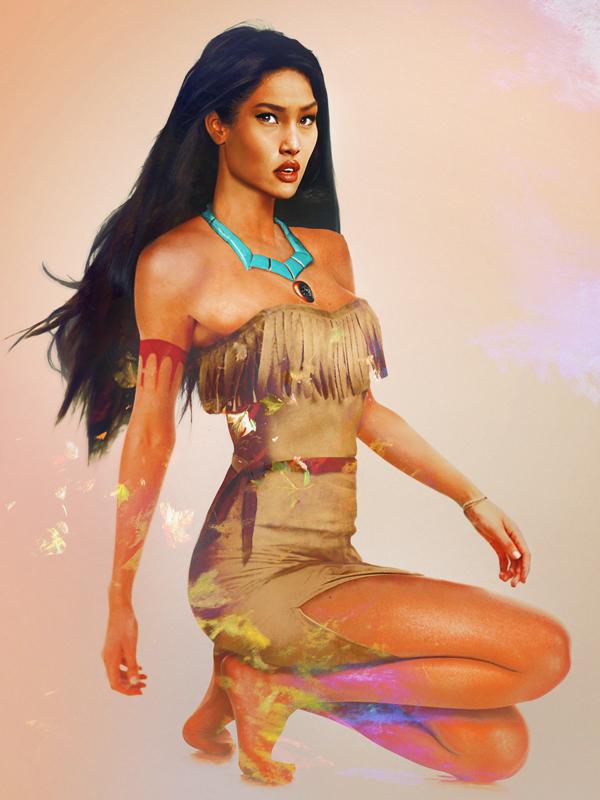 Pocahontas-Realiste